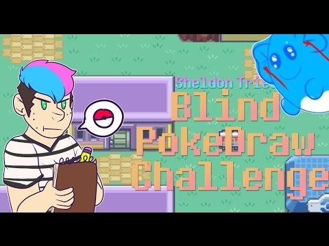 Blind Pokemon Draw Challenge!