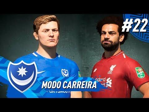 O Histórico LIVERPOOL x PORTSMOUTH! - MODO CARREIRA #22 l FIFA 19
