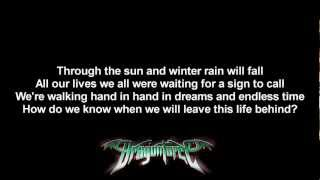 DragonForce - Trail Of Broken Hearts | Lyrics on screen | HD