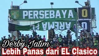 Panas..!!! Tribun Bonek Green Nord   Emosi Jiwaku Chant   Persebaya vs Arema