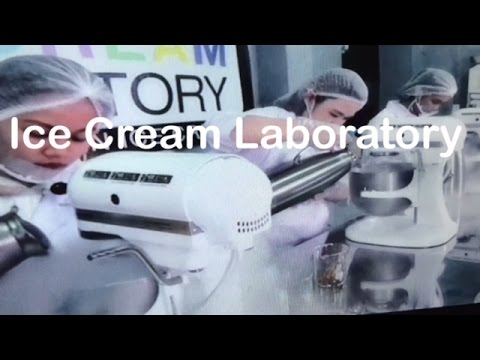 Ice Cream Laboratory Liquid Nitrogen Ice Cream SM Center Pasig Manila by HourPhilippines.com