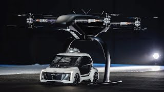 Pop.Up Next flying taxi concept Video