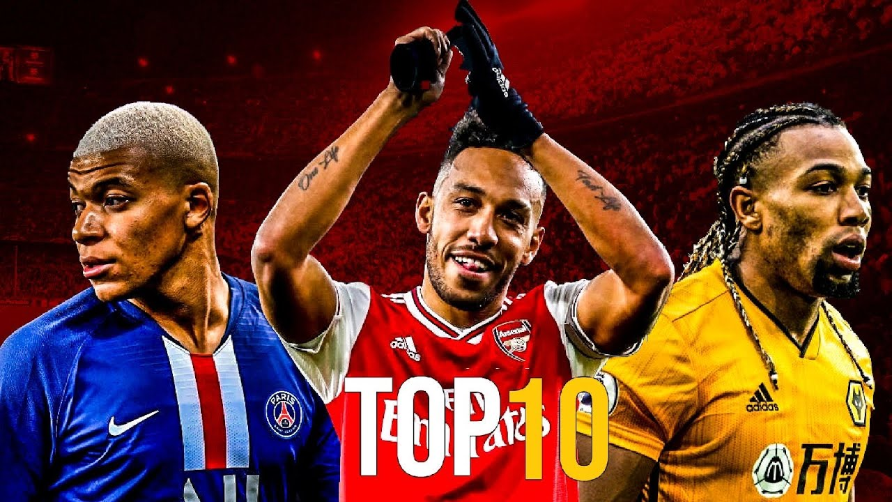 Top 10 Fastest Football Players 2020