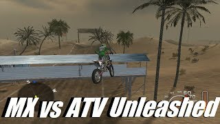 "MX vs. ATV Unleashed - Free Riding - ""Desert Oasis"""