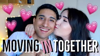 WE MOVED IN TOGETHER! OUR NEW HOUSE! 💗 | JustHelina