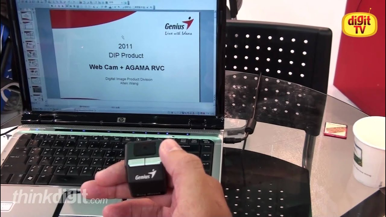 5938d28ba45 Genius Ring Mouse Hands-on demo - YouTube