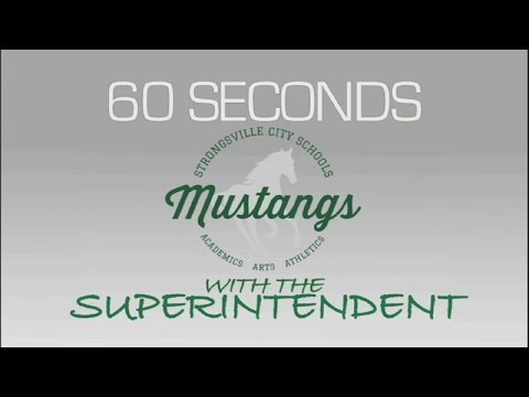 60 Seconds with the Superintendent, Vol. #67