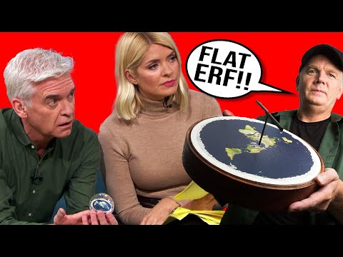 Flat Earth Godfather Makes A Fool Of Himself On TV thumbnail