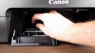 Canon PIXMA TS3150 Change ink cartridges