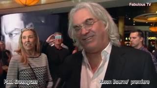 Paul Greengrass At JASON BOURNE Premiere On Fabulous TV