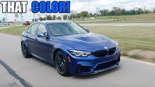 Taking Delivery Of a 2018 BMW M3 CS! ($106K)