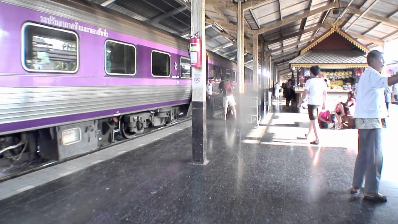 18 Tren Nocturno De Chiang Mai A Bangkok Viaje A Tailandia Youtube