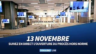 🔴 Revivez l'ouverture du PROCÈS des attentats du 13 novembre