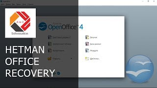 How To Recover Open Writer and Calc Documents With Hetman Office Recovery Software