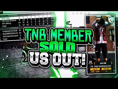 TNB MEMBER SOLD US OUT!😳 HG x TNB • DONJ 2.0 GOT US EXPOSED?😱😒 NBA 2K18
