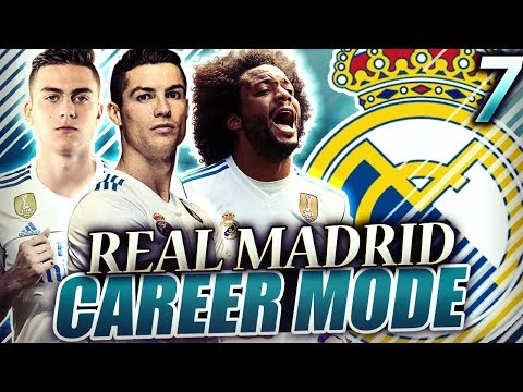 FIFA 18 Real Madrid Career Mode #7 -  ARE MADRID SLIPPING UP? HUGE GAMES IN THE UCL!!