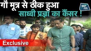 Exclusive : साध्वी प्रज्ञा ठाकुर का गौ ज्ञान सुनिए! | MP Tak