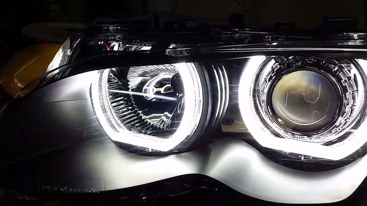 f30 led angel eyes bmw e46 youtube. Black Bedroom Furniture Sets. Home Design Ideas