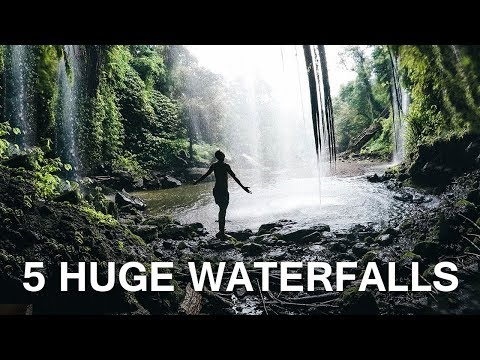 5 AMAZING WATERFALLS IN LOMBOK - BALI GUIDE | VLOG 50