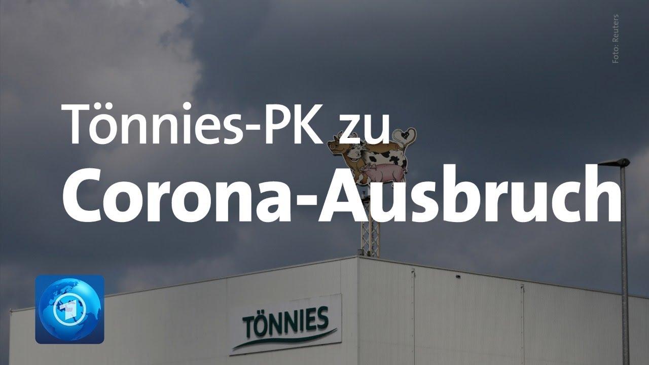 nach corona ausbruch pressekonferenz von tonnies