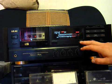 akai gx 95 tape deck short demo youtube. Black Bedroom Furniture Sets. Home Design Ideas