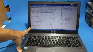 como entrar na BIOS e formatar Pelo pendrive NOTEBOOK ASUS