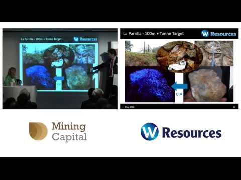 W Resources CEO Michael Masterman presents at Mining Capital Conference