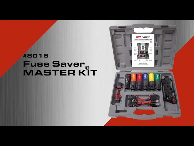 #8016 Fuse Saver Master Kit By Innovative Products Of America