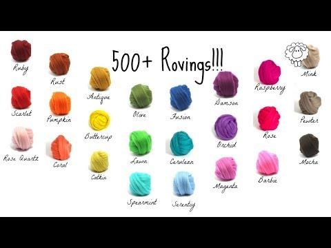 Arm Knitting Lesson 1 - Where I Buy My Wool Roving CHEAP!  (SHhhhhh top secret.)
