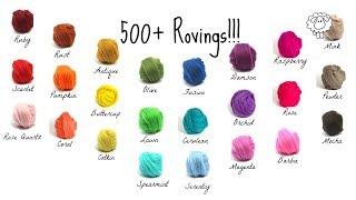 Arm Knitting Lesson 1 - Where I Buy My Wool Roving CHEAP!  (SHhhhhh top secret...)