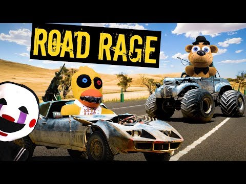 FNAF Plush Episode 133: Road Rage!!!