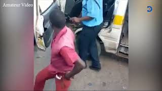 Police Officer and Tout almost exchanged blows in a heated disagreement