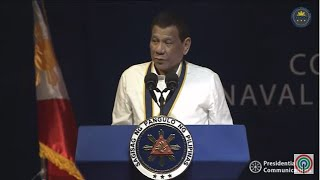 Pres. Duterte speaks at Philippine Navy anniversary celebration | 17 June 2019