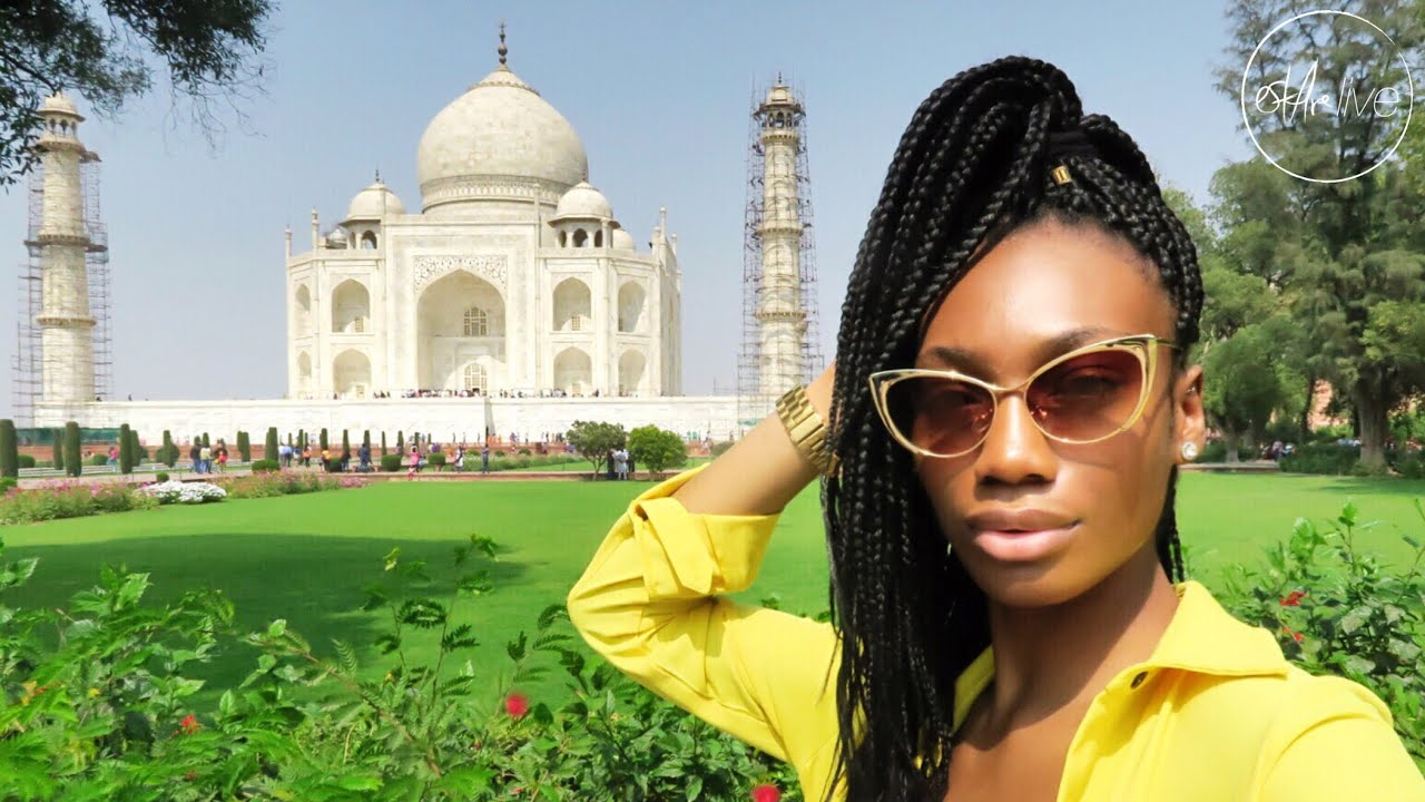 VLOG | (INDIA PT 1) PEOPLE STARE... ALOT! & TRIP TO THE TAJ MAHAL
