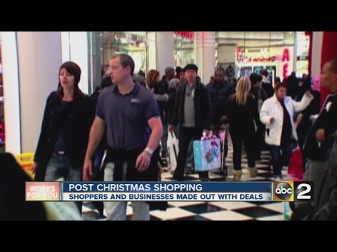 Businesses banking on post-holiday sales