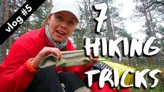 7 HIKING TRICKS // Hiking Through Estonia vlog #5