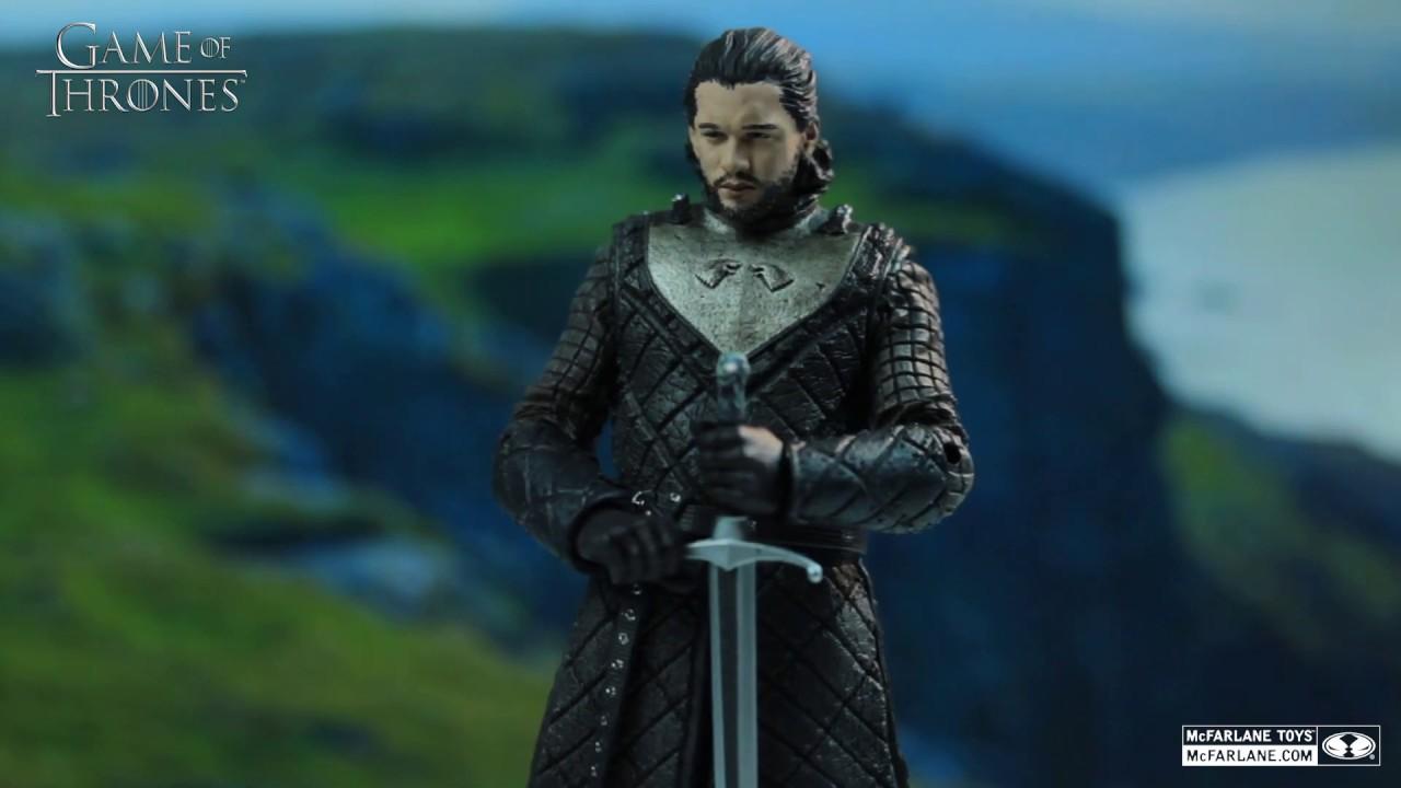 McFarlane Toys Game of Thrones Jon Snow 6-inch Action Figure