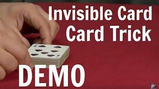Invisible Card Card Trick - Card Tricks