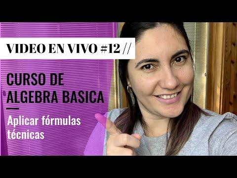 12-curso-basico-de-algebra:-aplicar-formulas-tecnicas
