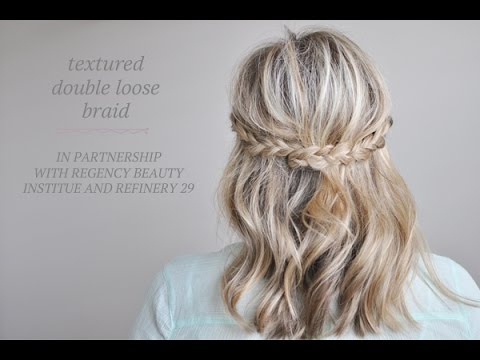 Texture Hair Tutorial in partnership with Regency + Refinery 29
