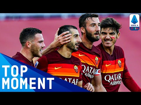 Mkhitaryan scores WONDER GOAL in Roma win! | Roma 3-0 Parma | Top Moment | Serie A TIM