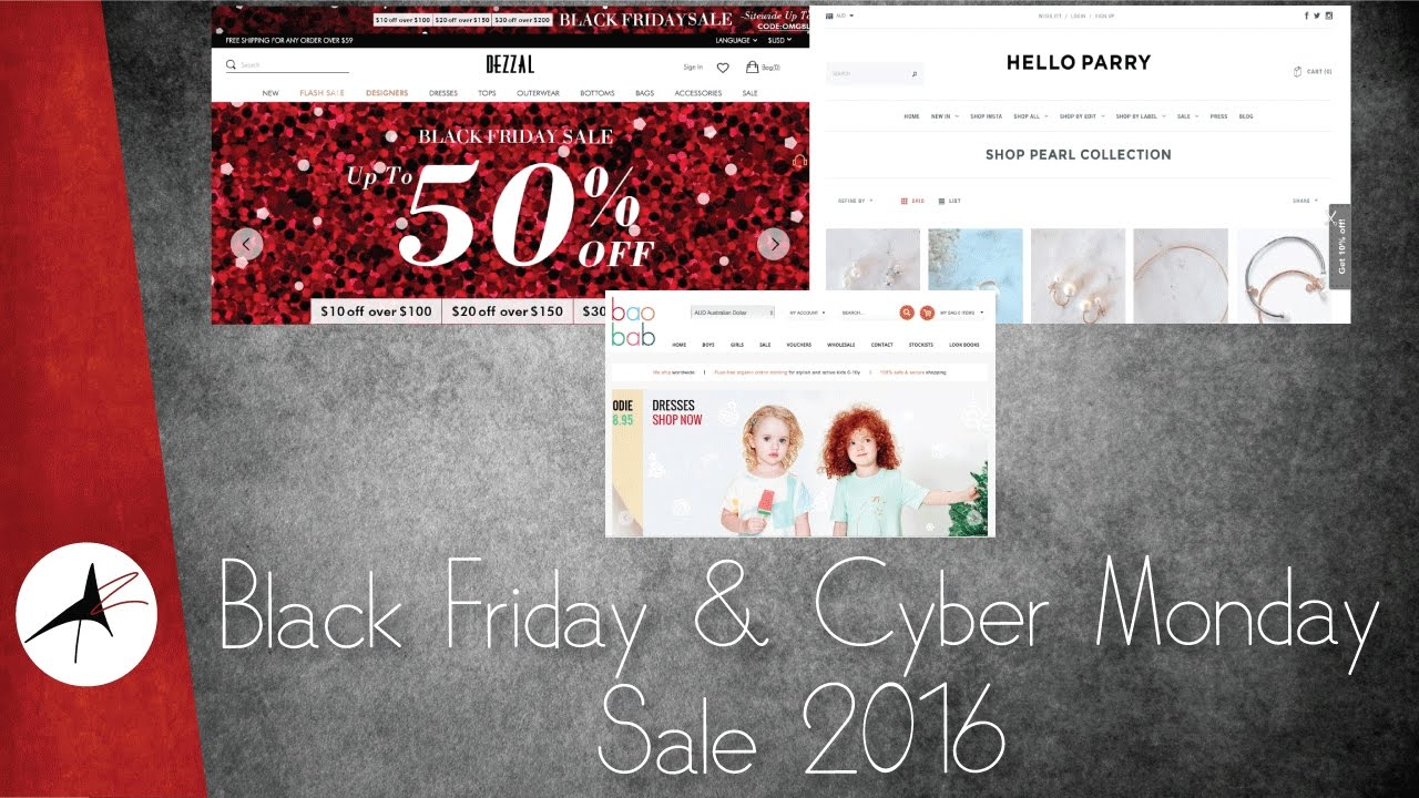 Black Friday & Cyber Monday Sale 2016 | Arpitha Rai