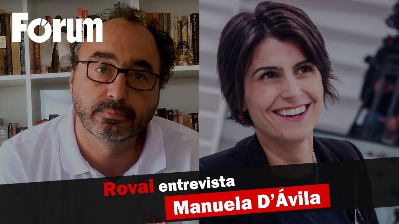 Renato Rovai entrevista Manuela D'Ávila sobre o programa Roda Viva