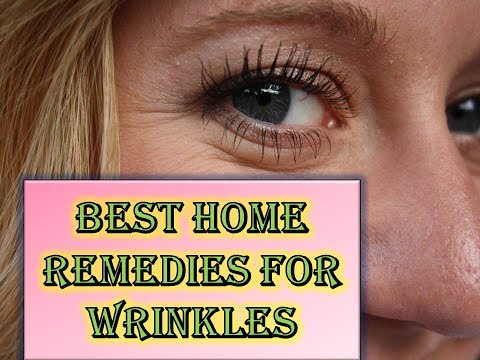 BEST HOME REMEDIES FOR WRINKLES – BEAUTY TIPS – WRINKLES ON FACE HOME REMEDIES