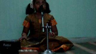 Indian classical-Sneha Sivakumar- ragam madhuvanthi