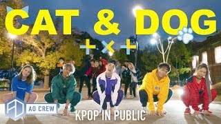 KPOP IN PUBLIC TXT 'CAT & DOG' Dance Cover [AO Crew - Australia] ONE SHOT vers.