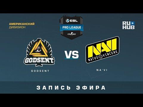 NaVi vs GODSENT - ESL Pro Season 6 - Map 3