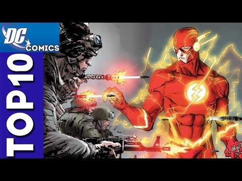 Top 10 Flash Funny Moments From Justice League
