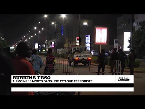 Burkina Faso : au moins 18 morts dans l'attentat de Ouagadougou