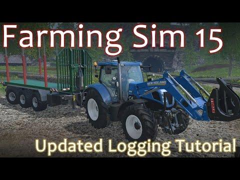 Logging Tutorial - Farming Simulator 15